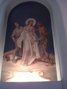 Tenth Station:  Jesus is Stripped of His Garments