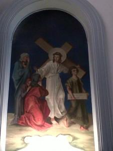 Eighth Station: Jesus Consoles the Women of Jerusalem