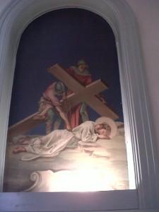 Ninth Station: Third Fall of Jesus
